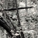Cross (Black &amp; White), by Kenneth Byrd
